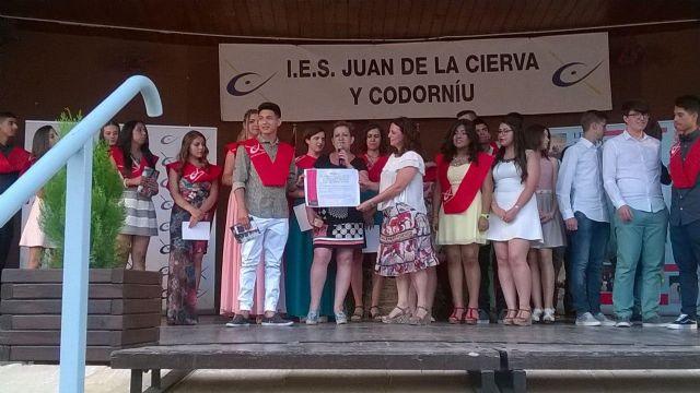 Los alumnos de 4° de la ESO del IES Juan de la Cierva y Codorníu de Totana apoyan a D´genes, Foto 3