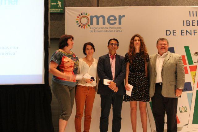 El proyecto Terapia de la amistad y el Centro Multidisciplinar Celia Carrión Pérez de Tudela se exponen en el III encuentro Iberoamericano de Enfermedades Raras, Foto 1