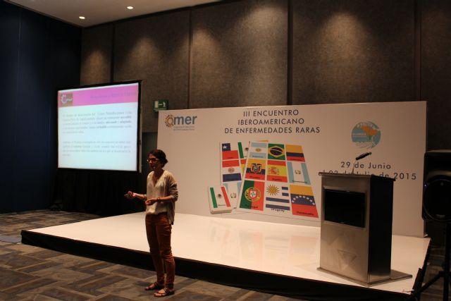 El proyecto Terapia de la amistad y el Centro Multidisciplinar Celia Carrión Pérez de Tudela se exponen en el III encuentro Iberoamericano de Enfermedades Raras, Foto 3