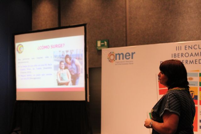 El proyecto Terapia de la amistad y el Centro Multidisciplinar Celia Carrión Pérez de Tudela se exponen en el III encuentro Iberoamericano de Enfermedades Raras, Foto 4