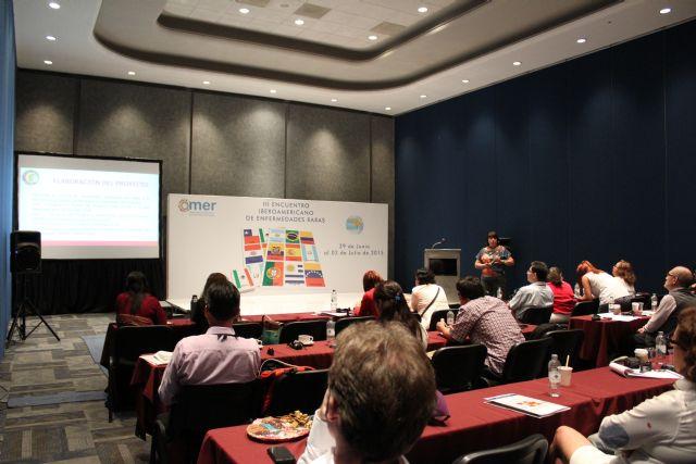 El proyecto Terapia de la amistad y el Centro Multidisciplinar Celia Carrión Pérez de Tudela se exponen en el III encuentro Iberoamericano de Enfermedades Raras, Foto 5