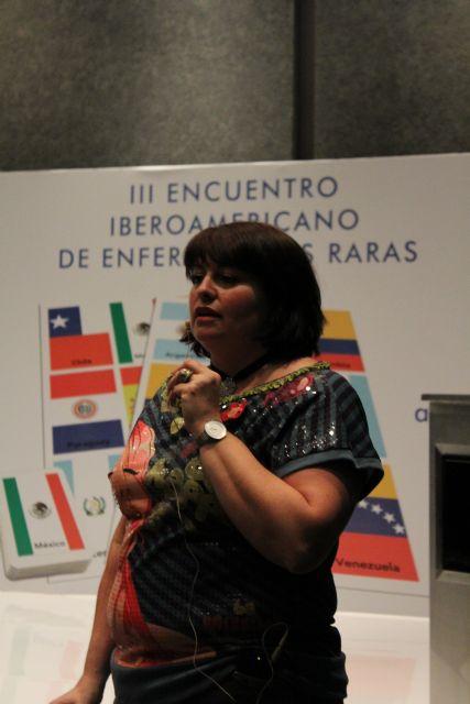 El proyecto Terapia de la amistad y el Centro Multidisciplinar Celia Carrión Pérez de Tudela se exponen en el III encuentro Iberoamericano de Enfermedades Raras, Foto 6