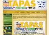 Descubre todos los detalles de la Ruta de Tapas, Cóctel y Postres de Totana en la web detapasportotana.com