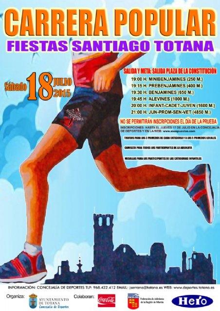El 18 de julio, Totana celebra corriendo las Fiestas de Santiago, Foto 1