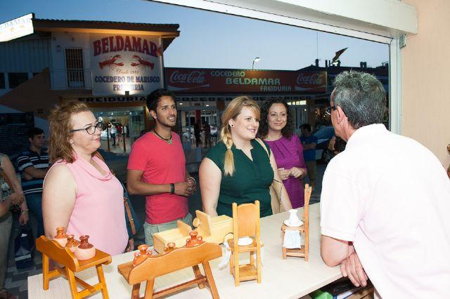 El mercado de verano de Puerto de Mazarrón amplía la oferta comercial y de ocio, Foto 5