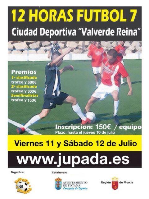 La Ciudad Deportiva Valverde Reina acoge los días 10 y 11 de julio las 12 Horas de Fútbol-7, Foto 1