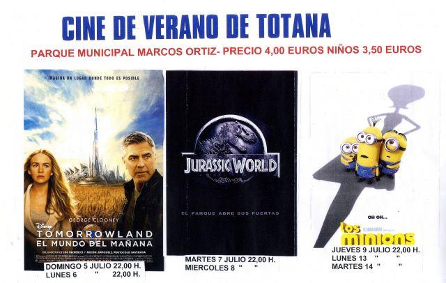 Prosigue la programación del Cine de Verano en el Auditorio del Parque Municipal Marcos Ortiz, Foto 1