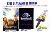 Prosigue la programación del Cine de Verano en el Auditorio del Parque Municipal Marcos Ortiz