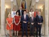 El alcalde felicita a los miembros del nuevo Gobierno regional