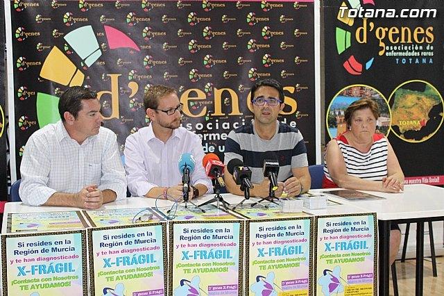 D´Genes pone en marcha un grupo de trabajo de X-Frágil en la Región de Murcia, Foto 1