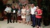 La delegación de Lourdes Totana organizó su cena-gala donde se entregaron los premios a distintas personas de la misma