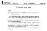 El BORM publica la declaración de imposibilidad de cumplimiento del convenio urbanístico C-54