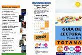 La biblioteca municipal Mateo García elabora una guía de lectura para el verano que recoge las últimas novedades y títulos más atractivos