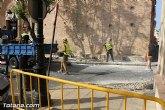 El Ayuntamiento acomete obras de accesibilidad y repintado de vados peatonales