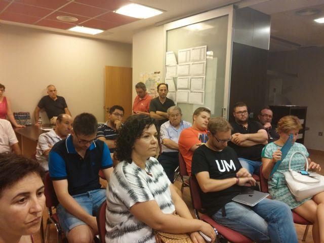 El PSOE de Totana renueva su ejecutiva