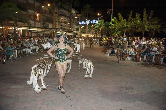 La Peña La Cañadica gana la III edición del Carnaval de Verano Puerto de Mazarrón, Foto 3