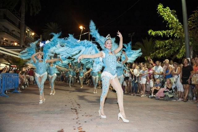 La Peña La Cañadica gana la III edición del Carnaval de Verano Puerto de Mazarrón, Foto 4