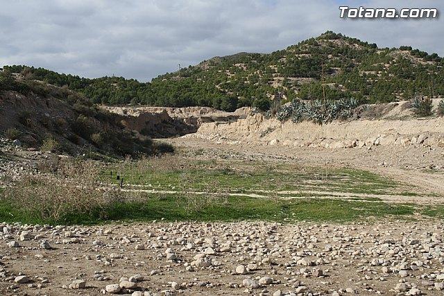 La CHS mejorará la capacidad de desagüe de 2,6 kilómetros de la rambla de Lébor para evitar inundaciones en el Valle del Guadalentín, Foto 1
