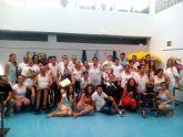 Fin de curso y clausura de talleres en el centro de d�a de personas con discapacidad