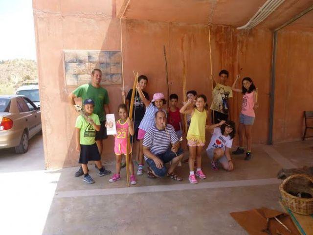 Un total de 11 niños y niñas participan en la Semana de la Prehistoria en La Bastida, Foto 6