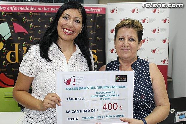La Asociación de Profesionales del Coaching de la Región de Murcia colabora con 400 euros con las Enfermedades Raras, Foto 1