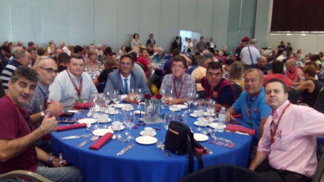 La PB Totana y la Federación de Peñas Barcelonistas de la Región estuvieron presentes en el XXXVI Congreso Mundial de Peñas del FC Barcelona y en el Gamper, Foto 4