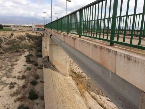 El alcalde advierte del peligro que existe de inundación en el núcleo rural de Las Ventas y el Camino Real por una embocadura abierta en el Canal de El Paretón si la CHS no toma medidas, Foto 6
