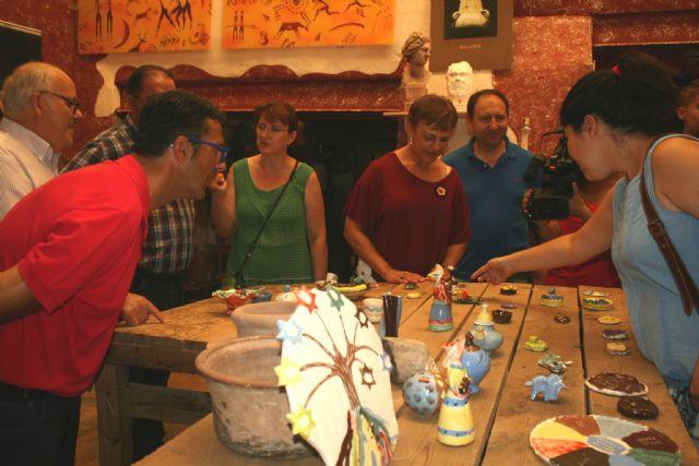 Durante los meses de agosto y septiembre Bellón Alfareros acoge una exposición, Foto 3