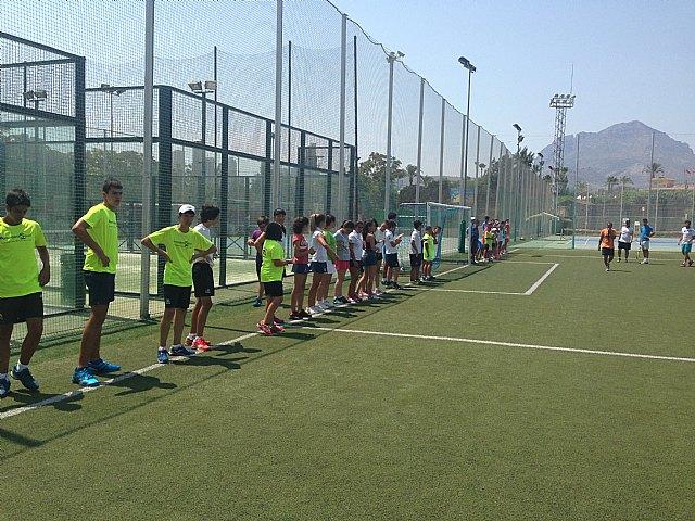 Finaliza el Stage de Verano organizado por el Club de Tenis Totana - 2