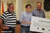 El EVA-13 entrega a D´genes y AELIP 2.558 euros recaudados en la carrera Dragon Challenge - 12