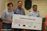 El EVA-13 entrega a D´genes y AELIP 2.558 euros recaudados en la carrera Dragon Challenge - 13