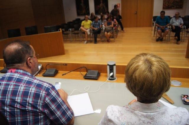 El Gobierno municipal mantiene una ronda de reuniones con representantes de los colectivos profesionales y sociales del municipio de Totana, Foto 3