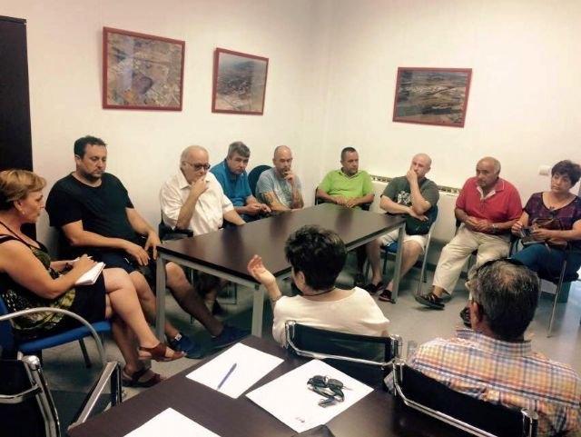 El Gobierno municipal mantiene una ronda de reuniones con representantes de los colectivos profesionales y sociales del municipio de Totana, Foto 4