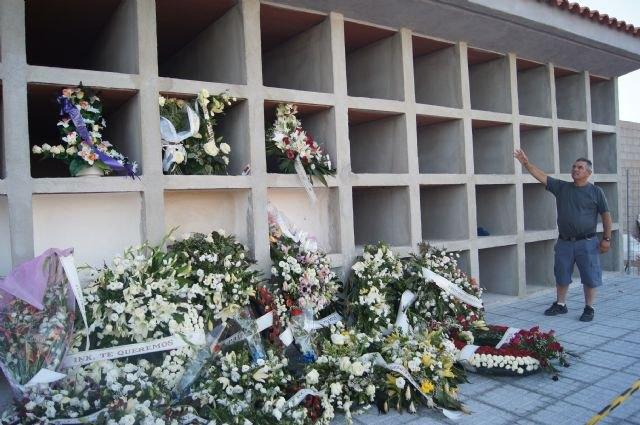 """Finalizan las obras de los 40 nuevos nichos construidos en la nueva zona del Cementerio Municipal """"Nuestra Señora del Carmen"""", Foto 2"""