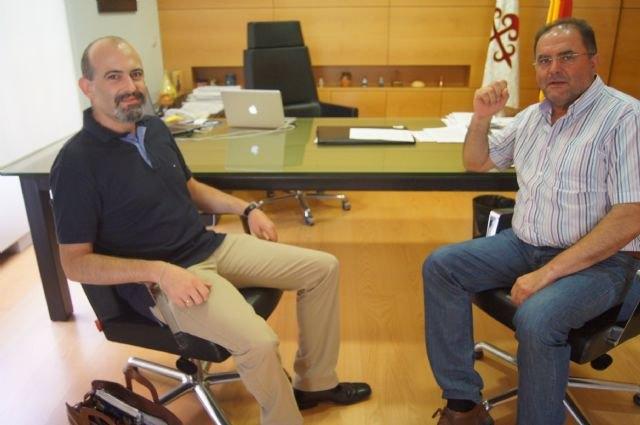 Los alcaldes de Totana y Aledo se reúnen por vez primera para abordar asuntos de interés general que afectan a ambos municipios,, Foto 1