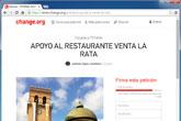 Lanzan una campaña de recogida de firmas en change.org en apoyo al Restaurante Venta la Rata