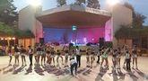 El Club Patín de Totana ofreció una Exhibición de patinaje artístico con motivo de las Fiestas de Santiago 2015