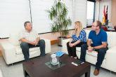 Fomento y Ayuntamiento acuerdan iniciar las obras de la rotonda del Complejo Deportivo