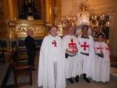 El totanero Juan Carrión debuta como hermano lego de los Templarios de Jumilla en sus agasajos a la patrona del municipio
