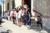 El Ayuntamiento de Totana guarda un minuto de silencio en repulsa contra la violencia de género