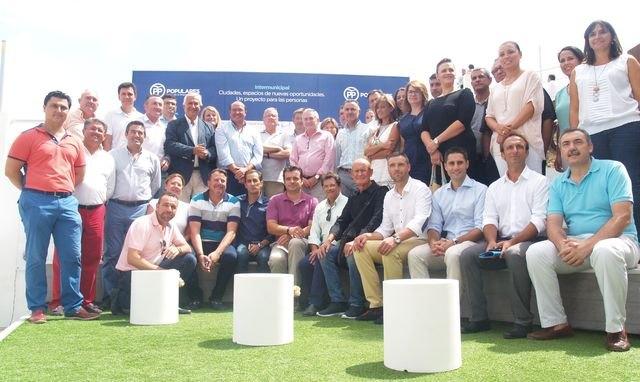 El PP defiende los proyectos comunes de España en agua, financiación e infraestructuras desde