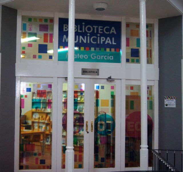 Abre el servicio de la Biblioteca Municipal Mateo García desde hoy con su horario habitual, Foto 2