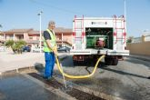 Servicios procede a la limpieza de alcantarillados en prevenci�n de inundaciones