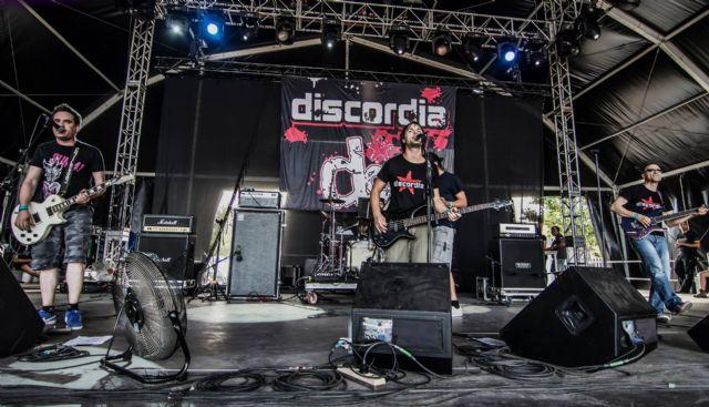 El grupo totanero Discordia compartirá escenario con siete estrellas del pop-rock nacional en el Conciertazo Amstel Carthagineses y Romanos, Foto 1