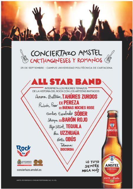 El grupo totanero Discordia compartirá escenario con siete estrellas del pop-rock nacional en el Conciertazo Amstel Carthagineses y Romanos, Foto 3