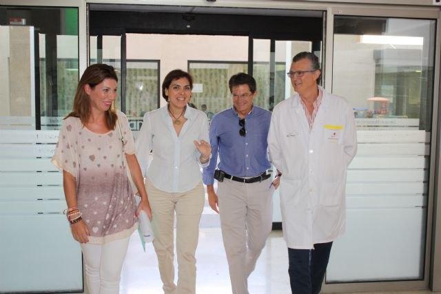Sanidad invierte casi 20 millones en mejorar las infraestructuras del Área de Salud III-Lorca, Foto 2