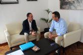Reuni�n entre el Instituto de Fomento y el Ayuntamiento de Alhama