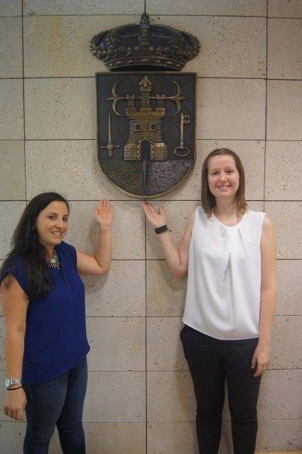 Dos jóvenes europeas realizan sus prácticas laborales formativas en el Ayuntamiento de Totana en el marco del Programa Eurodisea, Foto 2