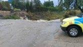 El temporal de lluvias deja, por el momento, cerca de 60 litros por metro cuadrado de media en el municipio de Totana