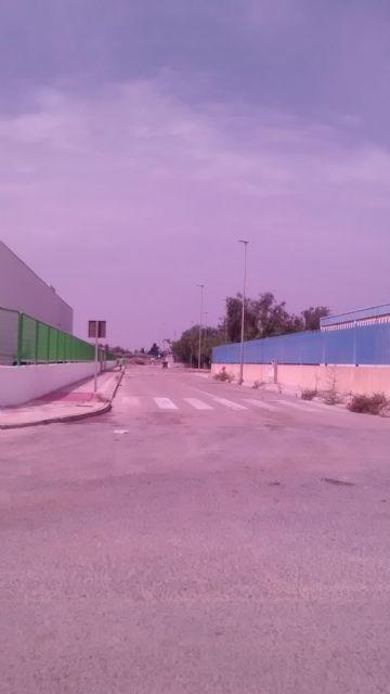 El PP denuncia el estado de abandono de los jardines y falta de limpieza general que sufre el Polígono Industrial de Totana, Foto 2